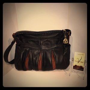Sold Victoria Leather Co. Women's Black Purse